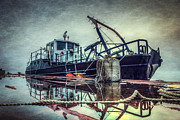 Tugboat Prints - Tug in the Fog Print by Everet Regal