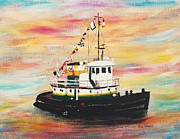 Suzanne  Marie Leclair - Tugboat