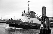 1960 Photo Originals - Tugboat Walumba Melbourne by Geoff Green