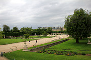 Tuileries Art - Tuileries Gardens 4 by Andrew Fare