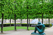Tuileries Art - Tuileries Gardens 5 by Andrew Fare