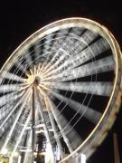 Tuileries Art - Tuileries Paris Wheel by Mark Currier