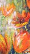 Tulip Freedom Print by Kathleen Pio