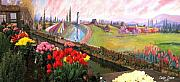 Mural Photos - Tulip Town 21 by Will Borden