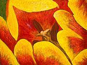 Tulipan Anaranjado Print by Karla Kernz