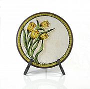 Spring Ceramics - Tulipani - Tulips by Rosario Scafaro