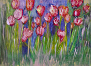 Designers Choice Paintings - Tulips  by Don  Wright