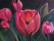 Trilby Cole - Tulips in Bloom