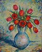 Mirjana Gotovac - Tulips in The Vase