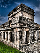 Mexico Prints - Tulum Ruinas 1 Print by Skip Hunt