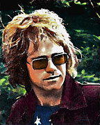 Elton John Art - Tumbleweed by John Travisano