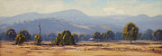 Signed . Nature Paintings - Tumut Landscape by Graham Gercken