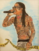 Carter Art - Tunechi by Christopher  Chouinard