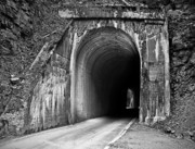 North Idaho Photos - Tunnel by Leland Howard