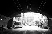 Stockton Street Tunnel Prints - Tunnel Print by Lloyd A Silverman