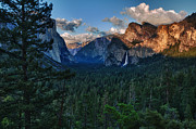 Tunnel View Prints - Tunnel View Sunset Print by Rick Berk