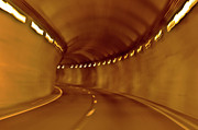Tunnel Digital Art - Tunnel Vision Daze  by DigiArt Diaries by Vicky Browning