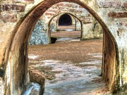 Stone Path Photos - Tunnel Vision by Michael Garyet