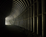 Bicycling Photos - Tunnel Vision West Vriginia Railroad Tunnel by Bill Swindaman