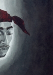 Rap Painting Originals - Tupac by Rishanna Finney