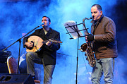 Nativity Prints - Turab Band at Nativity International Christmas Festival Print by Munir Alawi