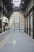 Architectural Detail Framed Prints - Turbine Hall of Tate Modern Framed Print by John Harper