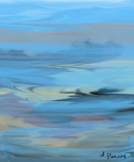 Turbulence Print by D Perry
