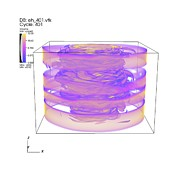 Simulation Photos - Turbulent Gas Flow Simulation by Lawrence Berkeley National Laboratory