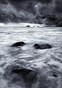 Seascape Posters - Turbulent Seas Poster by Mike  Dawson