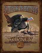 Game Framed Prints - Turkey Traditions Framed Print by JQ Licensing