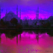 Muslim Artist Framed Prints - Turkish Beauty Framed Print by Seema Sayyidah