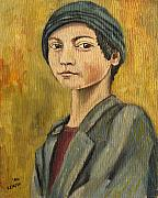 John Keaton Paintings - Turkish Boy by John Keaton
