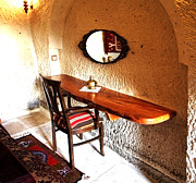 Oil Lamp Photos - Turkish Cave Captains Chair by Kantilal Patel