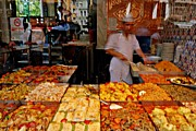 Food And Beverages Prints - Turkish Food Print by Dean Harte