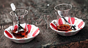 Turkish Photo Prints - Turkish Tea Print by John Rizzuto