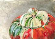 Squash Paintings - Turks Turban by Sarah Lynch