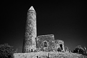 Historic Site Prints - Turlough Round Tower County Mayo Ireland Print by Joe Fox