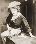 Revolvers Photos - Turn Of The Century Cowgirl Holding by Everett