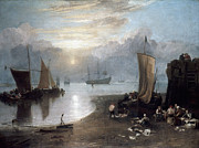 Romanticism Photo Posters - TURNER: SUN RISING c1807 Poster by Granger