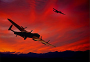 Lancasters Posters - Turning For Home Poster by Peter Chapman