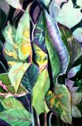 Botanical Drawings - Turning Leaves by Mindy Newman