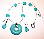 Handcrafted Jewelry - Turquoise from the Spirit Collection by Kelly DuPrat
