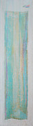 Scroll Mixed Media - Turquoise Remembrance Door   Tribute to Hari Thomas by Asha Carolyn Young