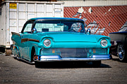 1957 Ford Custom Prints - Turquoise Tribe Print by Michael Kerckaert