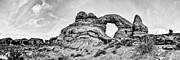 Desert Framed Prints - Turret Pano Framed Print by Chad Dutson