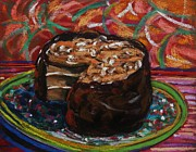 Layer Drawings Prints - Turtle Cake Print by John  Williams