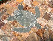 Turtle Ceramics - Turtle Floor by Thomas Deir