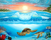 Randall Brewer Prints - Turtle Haven Print by Randall Brewer
