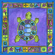 Corwin Paintings - Turtle by Pamela  Corwin