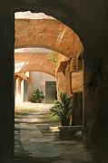 Brick Paintings - Tuscan Arches by Anna Bain